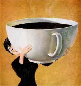 Ahhhh. Coffee....